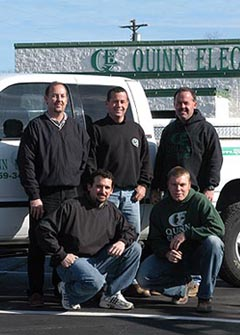 contact quinn electric