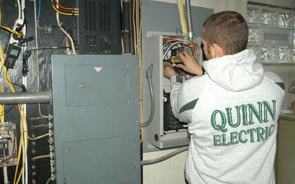 Permanent Backup Generators Installed By Quinn Electric